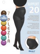Колготки для беременных Support 20 den Черные