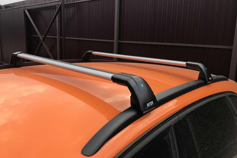 Багажник Inter Aerostar R-76i серебристый на интегрированные рейлинги