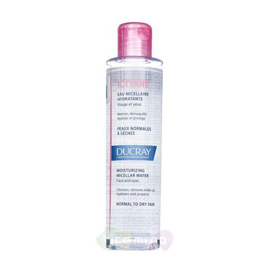 Ducray Ictyane Вода мицеллярная увлажняющая для лица и глаз, 200 мл