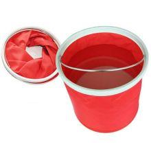Ведро складное Foldaway Bucket, 11 л, Цвет: Красный