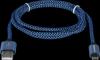 USB кабель USB08-03T PRO USB2.0 Синий, AM-MicroBM, 1m, 2.1A