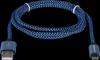 Акция!!! USB кабель USB08-03T PRO USB2.0 Синий, AM-MicroBM, 1m, 2.1A