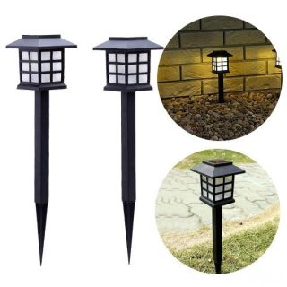 Садовый светильник на солнечной батарее Ретро, 2 шт