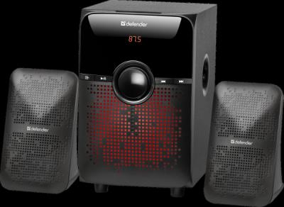 Акустическая 2.1 система X182 18Вт, BT/FM/MP3/SD/USB/LED/RC