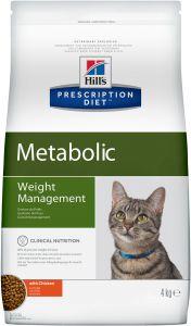 Hill`s Feline Meta 4KG (Коррекция веса)