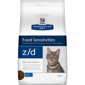 Hill`s Feline z/d 2KG (Острые пищевые аллергии)