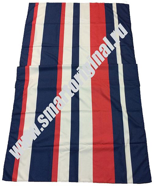 Smart Microfiber Полотенце Семейное 85 х 175 см синее/красное