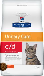 Hill`s Feline c/d Urinary Stress 400 GM (Мочекаменная болезнь)