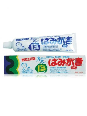 """""""Fudo Kagaku"""" """"Binotomo salt"""" Зубная паста для защиты от кариеса и зубного камня отбеливающая солёная 120г"""