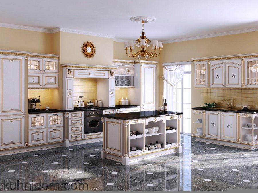 Кухня Афина Оро Белая