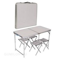 Раскладной стол для пикника и 4 стула FOLDING TABLE