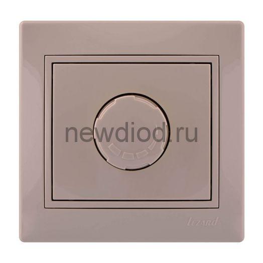 MIRA Диммер 800Вт кремовый с кремовой вставкой Lezard
