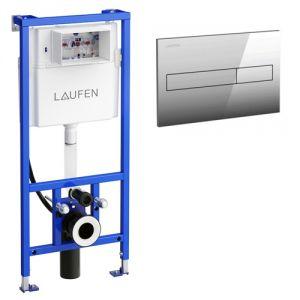 Инсталляция для подвесного унитаза-биде Laufen Lis CW2