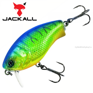 Воблер Jackall Cherry 0 Footer 48F 48 мм / 7,6 гр / Заглубление: 0 - 0,1 м / цвет: chrome tiger