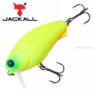 Воблер Jackall Cherry 0 Footer 48F 48 мм / 7,6 гр / Заглубление: 0 - 0,1 м / цвет: matt chartreuse
