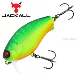 Воблер Jackall Cherry 0 Footer 48F 48 мм / 7,6 гр / Заглубление: 0 - 0,1 м / цвет: matt tiger