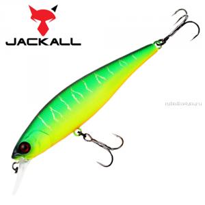 Воблер Jackall Squad Minnow 80 мм / 9,7 гр / Заглубление: 0,8 - 1,2 м / цвет: matt tiger