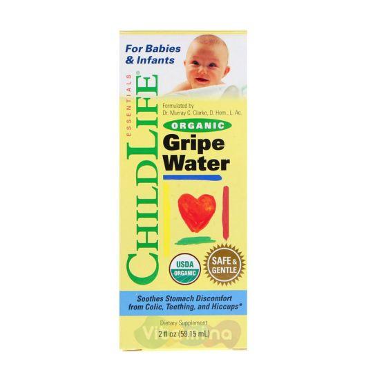 ChildLife Укропная вода Organic Gripe Water, 59,15 мл