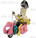 "Фигурка банан на мотоцикле ""W.Stratford"""