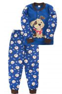 Пижама для мальчика 2-5 лет Bonito BK3003PJ синий, собачка