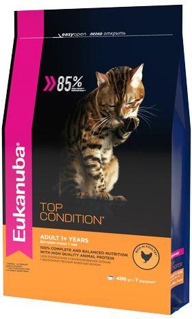 EUK Cat корм с домашней птицей для взрослых кошек