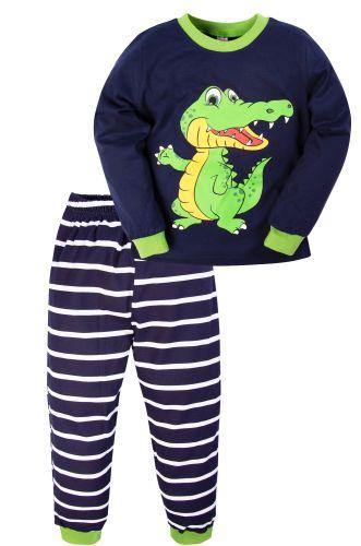 Пижама для мальчика 3-7 лет Bonito BK977PJ синий, крокодил