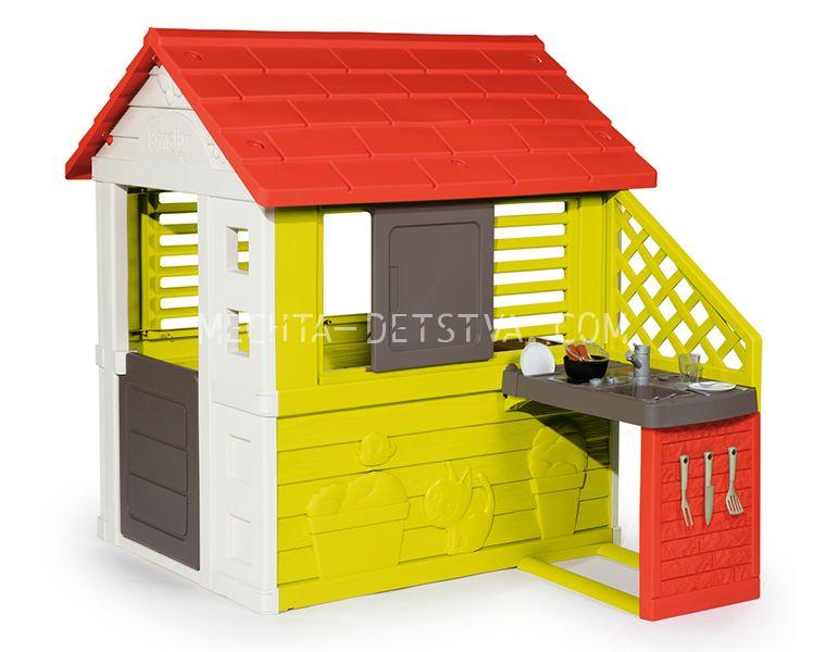 Игровой домик с кухней 810713