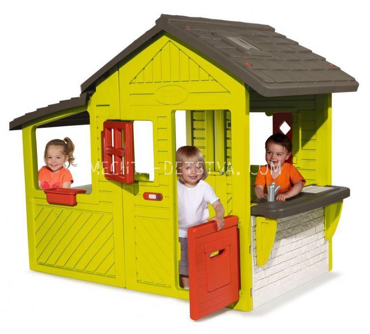Домик садовода со звонком 310300
