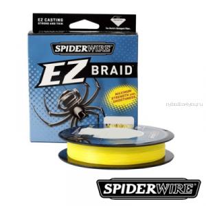 Леска плетеная Spiderwire EZ Braid 100 м  / цвет: Yellow