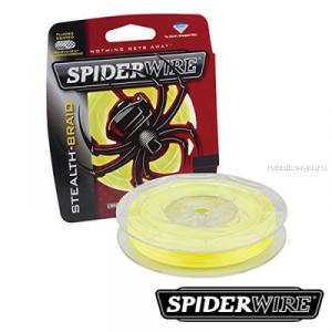 Леска плетеная Spiderwire Stealth Braid 137 м  / цвет: yellow