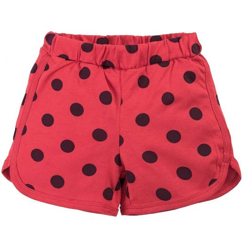 Шорты для девочек 5-8 лет Bonito BK1266SH красные