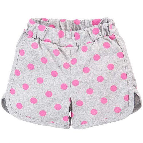 Шорты для девочек 5-8 лет Bonito BK1266SH серые
