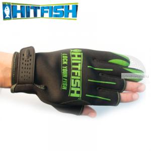 Перчатки рыболовные Hitfish Glove 04 #L (зеленый)