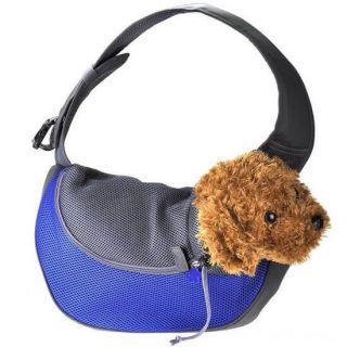 Сумка-переноска для кошек и мелких пород собак, Цвет: Синий