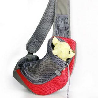 Сумка-переноска для кошек и мелких пород собак, Цвет: Красный