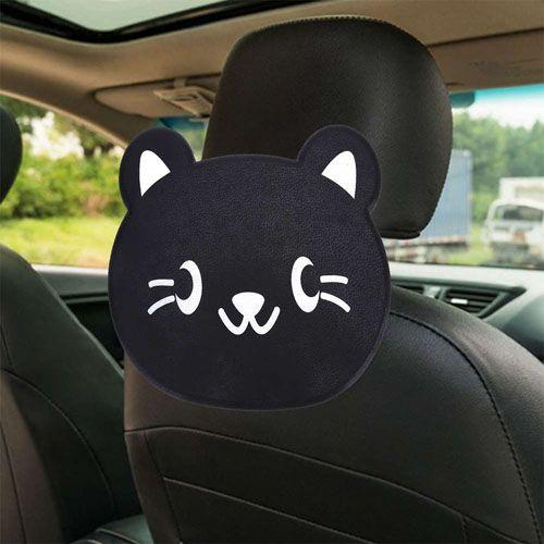 Детский столик для подголовника автомобиля Cartoon Car Tray Table, котик.