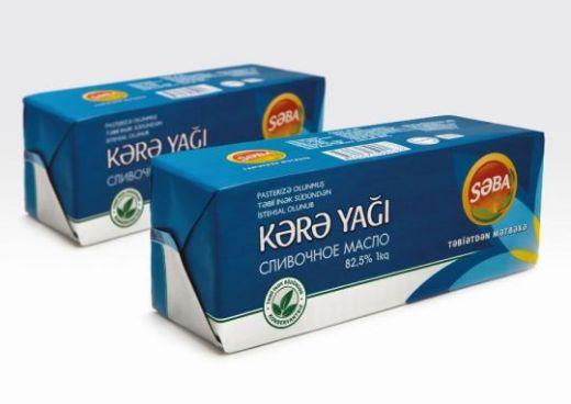 Сливочное масло SABA 1 кг