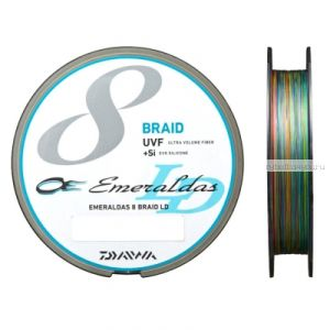 Шнур плетеный Daiwa OE Emeraldas 8 Braid UVF+Si Super PE  150 м / цвет: multicolor