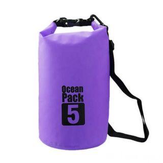 Водонепроницаемая сумка-мешок Ocean Pack, 5 L, Цвет: Фиолетовый