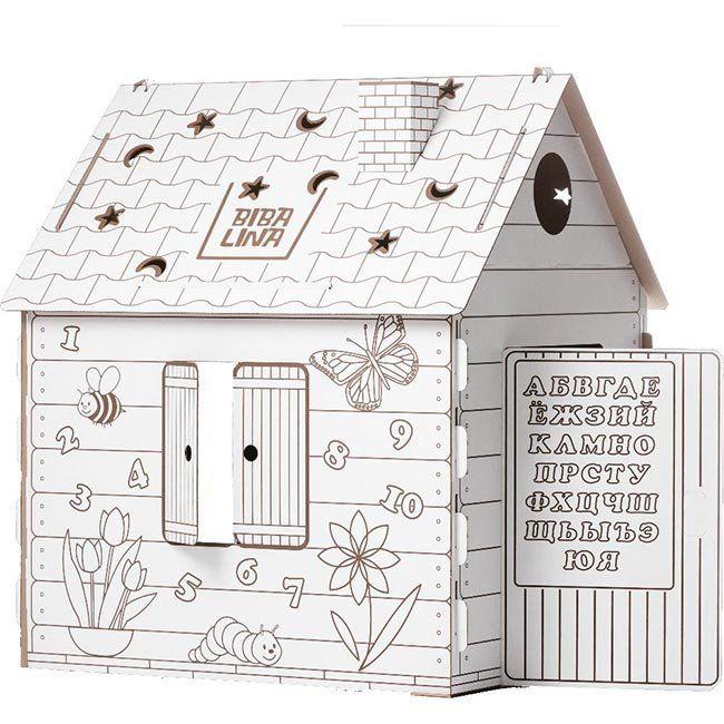 Набор ДТ Дом раскраска картон. БибаЛина