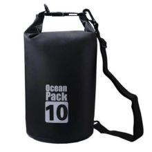 Водонепроницаемая сумка-мешок Ocean Pack, 10 L, Цвет: Черный