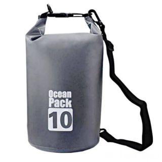 Водонепроницаемая сумка-мешок Ocean Pack, 10 L, Цвет: Серый