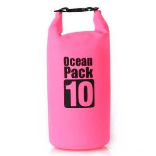 Водонепроницаемая сумка-мешок Ocean Pack, 10 L, Цвет: Розовый