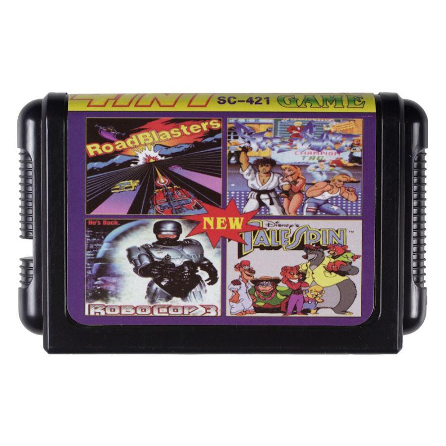 Sega картридж 4 в 1 SC-421