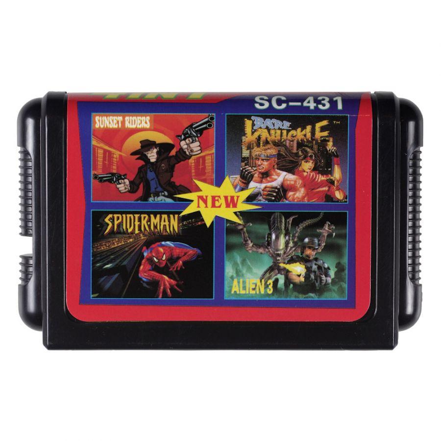 Sega картридж 4 в 1 SC-431
