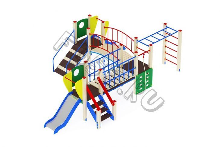 Детский игровой комплекс                           Карапуз Горка 750                                           5910х3810х1500