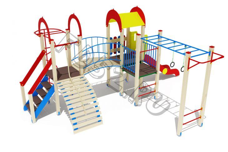 Детский игровой комплекс                           Рада Горка 1200          6870х5750х3000