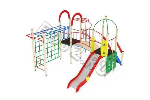 Детский игровой комплекс                          Навина Горка 1200                                           4850х3520х3200