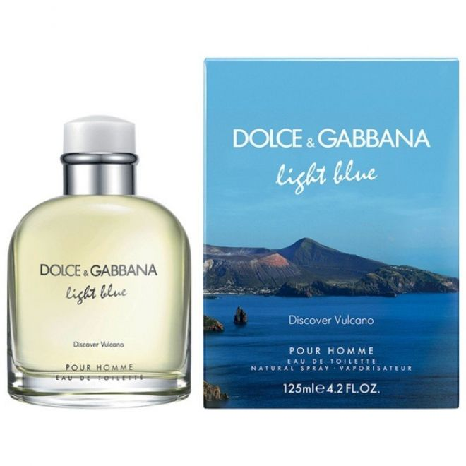 D&G Light Blue DISCOVER VULCANO