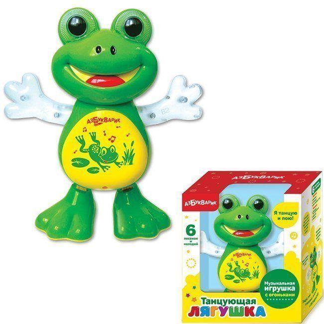 Муз.игрушка Танцующая Лягушка